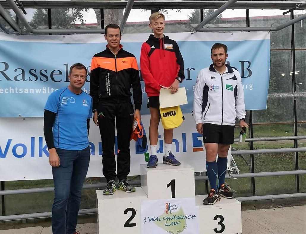Waldhaegenich-Lauf 2019 Vitalhaus-Team