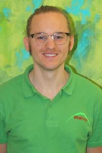 Lukas Ehmann Sportwissenschaftler Assistent der Geschäftsführung Achern Vitalhaus