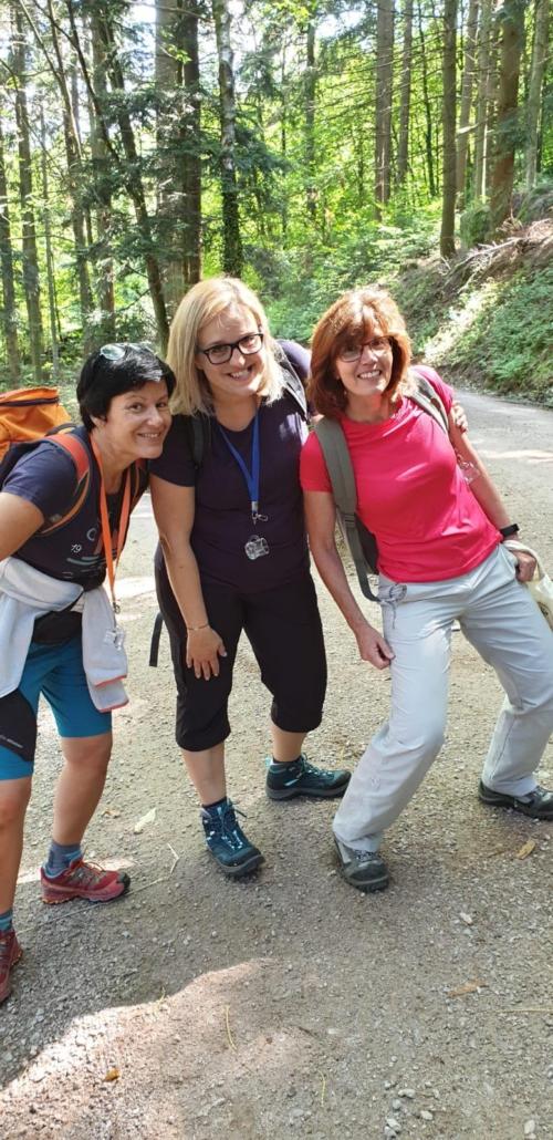 Ausflug Wanderkirmi Schwarzwald CeOS Team Achern