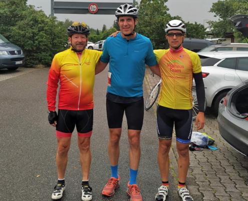 Zeitfahren Radrennen Vitalhaus Team 2020