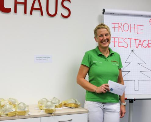 Anke Wieland Mitarbeiterin des Jahres 2020 Vitalhaus Achern