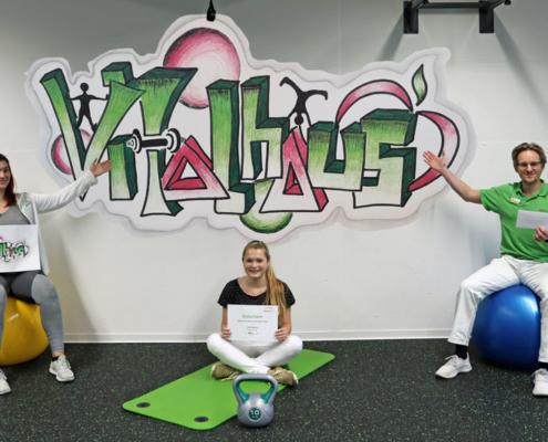 Vitalhaus Achern Kreativwettbewerb Design Graffiti Kurse Gruppenraum